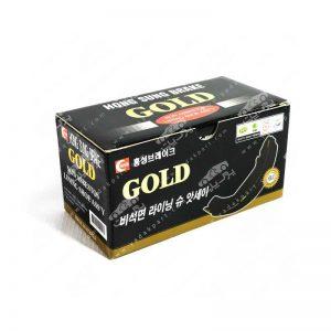 لنت ترمز چرخ عقب گلد GOLD پراید