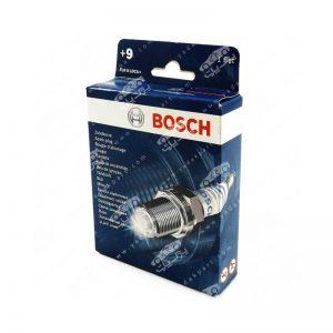 شمع موتور پایه کوتاه 2 پلاتین بوش BOSCH +9