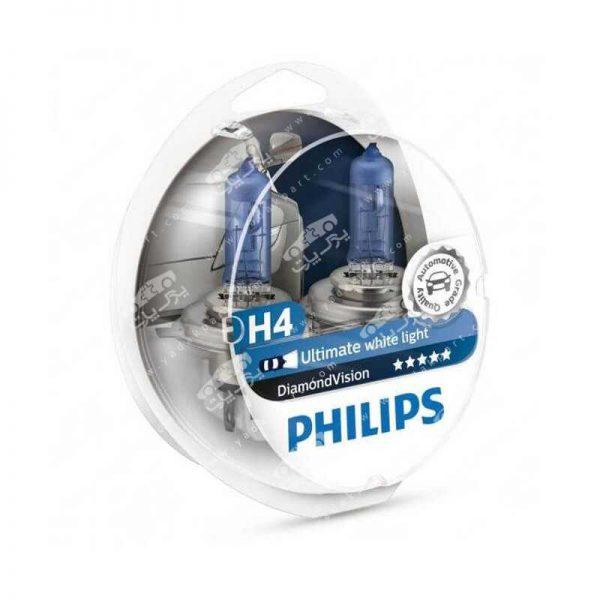 لامپ هالوژن فیلیپس Philips Diamond Vision H4