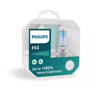 لامپ هالوژن فیلیپس Philips X-treme Vision H4