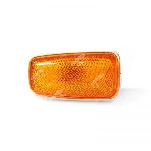 چراغ راهنما روی گلگیر نارنجی پراید