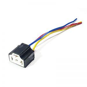 سوکت لامپ هالوژن H4 سرامیکی