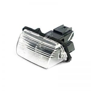 چراغ پلاک عقب شرکتی ایساکو پژو 206 پارس