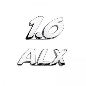 آرم خودرو نوشته 1.6 ALX ایساکو پژو 206