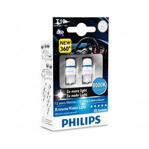 لامپ خودرو فیلیپس Philips X-treme Vision LED 8000K