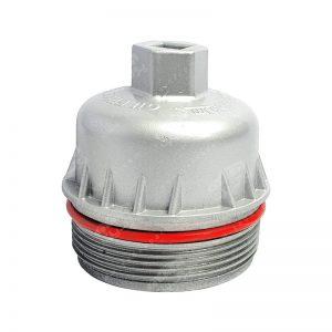 درپوش فیلتر روغن کوتاه فلزی آذرپارت پژو 206 207 رانا